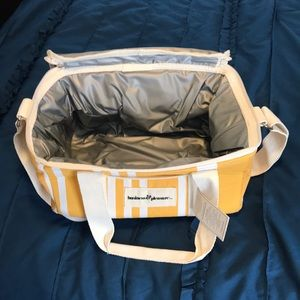Insulated Lunch Cooler/bag with shoulder strap.